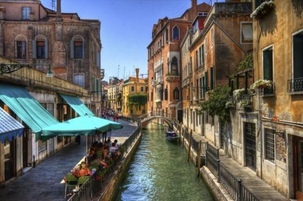 Италия страны архитектура город река загрузить