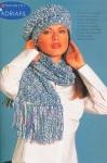 вязанные женские шапки с ушами фото. вязаные шапки с украшением.