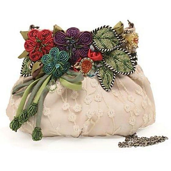 Сказочные узоры в сумках Mary Frances или идеи для творчества.