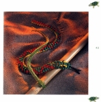 Бисероплетение змеи, из бисера объемные игрушки.  Бисер.  Змея.