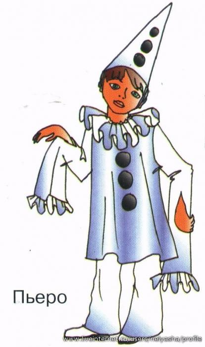 персонажи из буратино картинки пьеро как изначально
