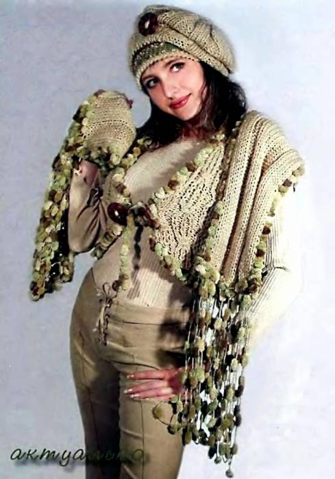 вязание на спицах платье схемы.
