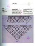 Схемы вязания крючком шали для начинающих .