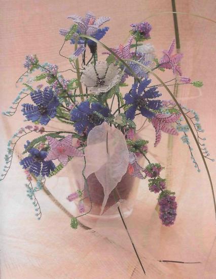 Скачать книги цветов из бисера.