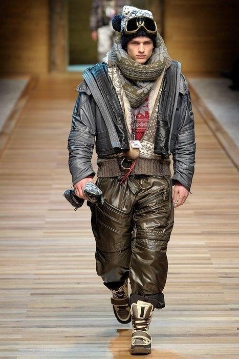 По началу, кому-то может показаться, что новая мужская коллекция модного...